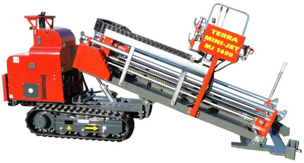 HDD Horizontal Directional Drilling > Crawler for Pit Launch >