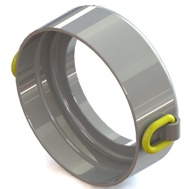 Underground Piercing Tools (Moles) > Pressure rings > Pressure ring 200/2x