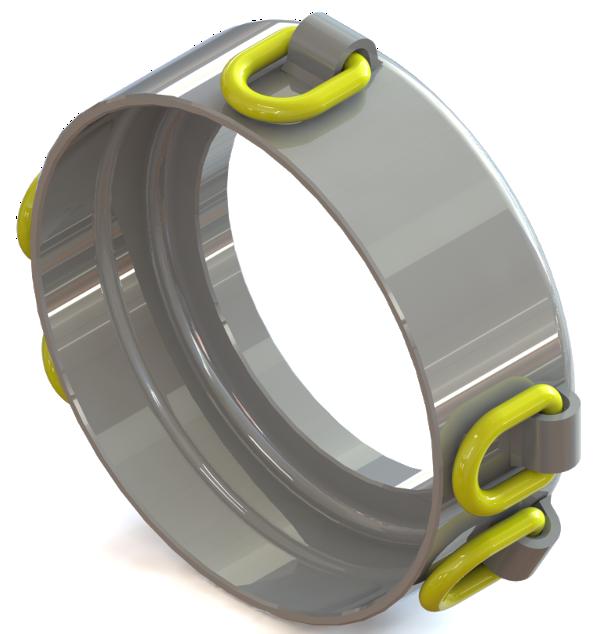 Underground Piercing Tools (Moles) > Pressure rings > Pressure ring 200/5x