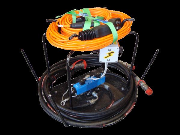 Directional Rod Pusher > Accessories > Control unit TERRA-JACK 125