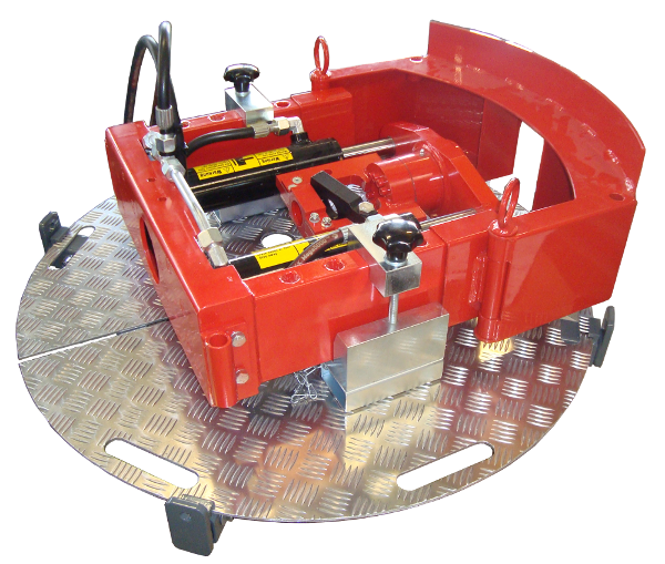 Directional Rod Pusher > Accessories > Manhole platform (JACK)
