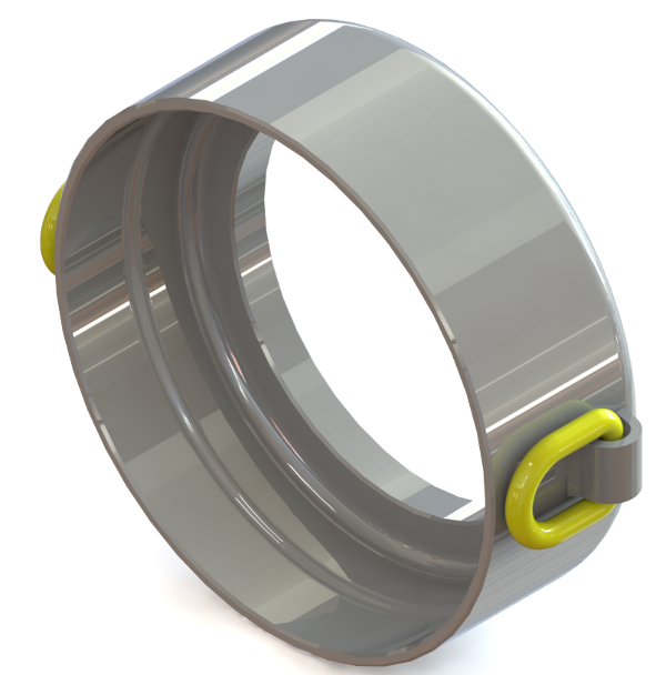 Steel Pipe Ramming Systems > Ram Accessories > Pressure ring 220/2x