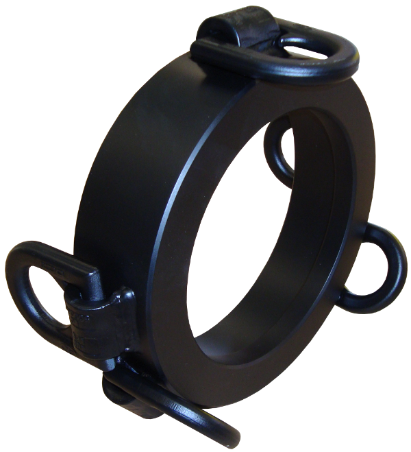 Steel Pipe Ramming Systems > Ram Accessories > Pressure ring 360/5x